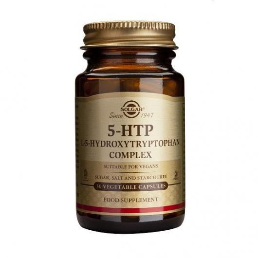 5-HTP hydroxytryptophane Solgar, 90 gélules végétales