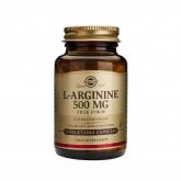 L-arginine 500 mg Solgar, 50 gélules végétales