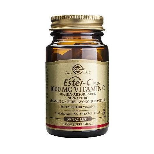 Ester-C® Plus 1000 mg Solgar, 30 comprimidos