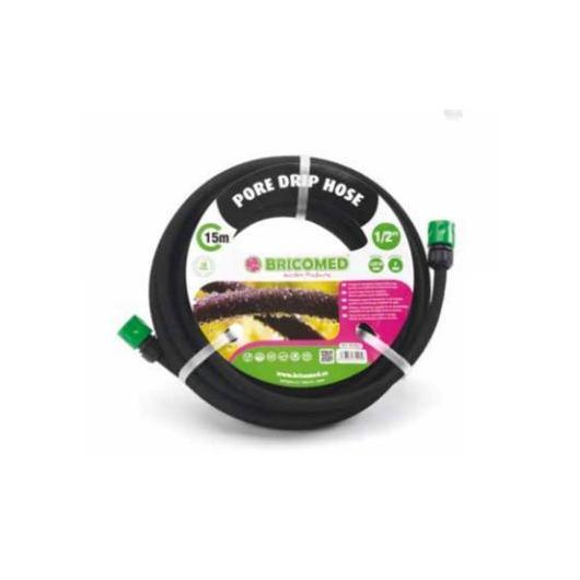 Manguera microporosa pore drip 1/2¨ de 15m