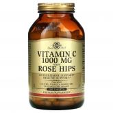Vitamina C Rose Hips 1000 mg Solgar, 250 comprimidos