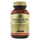 Citrato de Magnesio Solgar, 60 comprimidos
