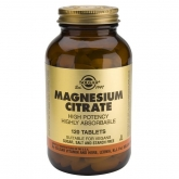 Citrate de magnésium Solgar, 120 comprimés
