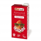 EcoMil almond milk with agave & chocolate 1ltr