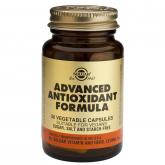 Fórmula Antioxidante Avanzada Solgar, 30 cápsulas vegetales
