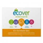 Pastiglie per lavastoviglie tutto in uno Ecover, 70 compresse.