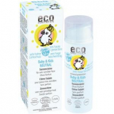EcoCosmetics neutral sun lotion for babies & kids SPF50 50ml