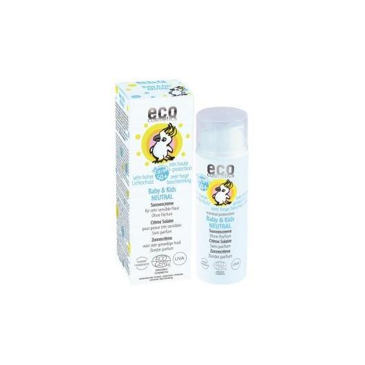 Protector solar F50 Neutral Bebé y niños, EcoCosmetics 50ml