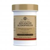 40 plus Acidophilus avanzado Solgar, cápsulas vegetales