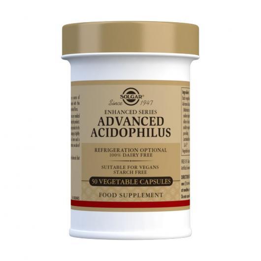 40 plus Acidophilus avancé Solgar, gélules végétales