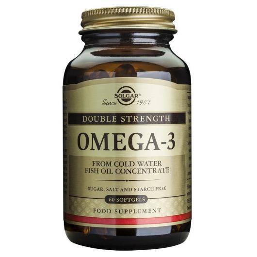 Omega 3 haute concentration Solgar, 120 gélules douces