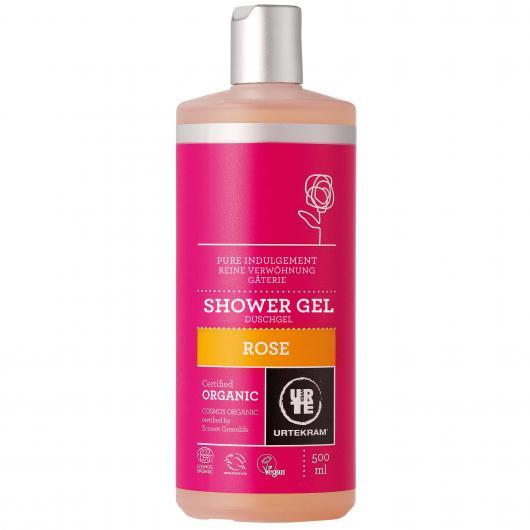 Shampooing à la rose Urtekram, 500 ml