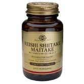 Reishi, Shiitake e Maitake Solgar, 50 capsule vegetali