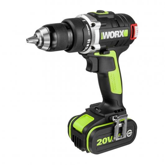 Perceuse-visseuse professionnelle à batterie Worx WU175 18 V