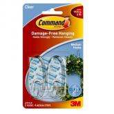 Appendini trasparenti medi Command Brand 3M