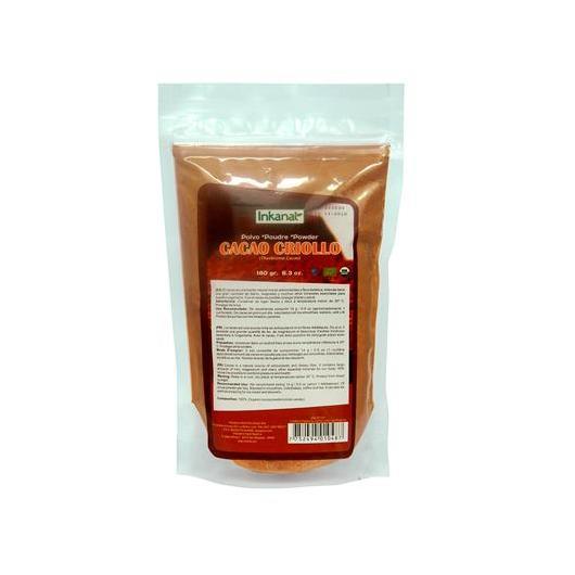 Cacao Criollo in polvere Inkanat, 180 g.