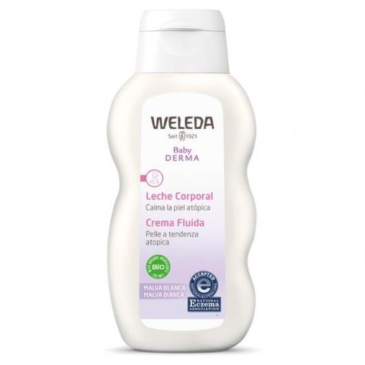 Lait corporel à la mauve blanche Weleda, 200 ml