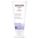 Crème visage à la mauve blanche Weleda, 50 ml