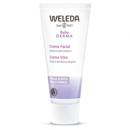 Crema Facial Malva Blanca Weleda, 50ml