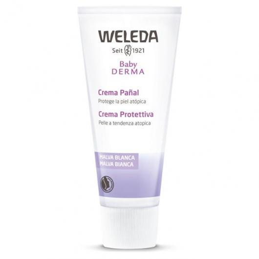 Crème pour le change à la mauve blanche Weleda, 50 ml