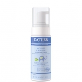 Mousse nettoyante bain peau et cheveux Cattier, 500 ml