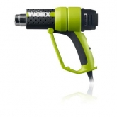 Decapador / pistola de calor profesional Worx WU745 2000 W