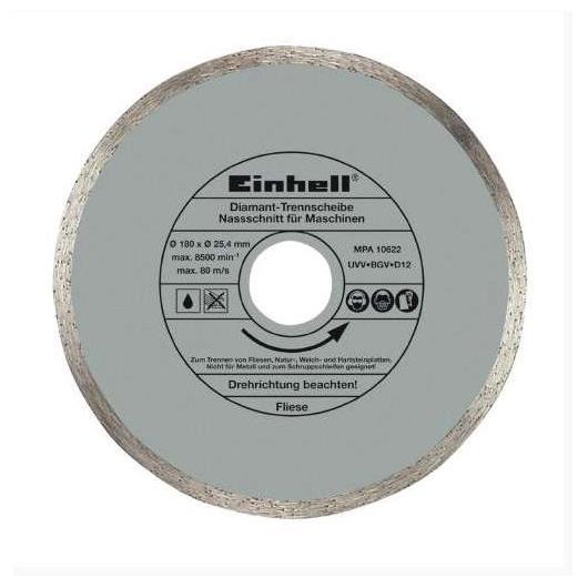 Disque diamant Einhell pour tables de coupe de carrelage