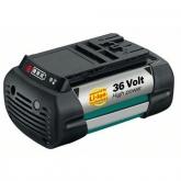 Batería de litio Bosch 36 V para herramientas de jardín