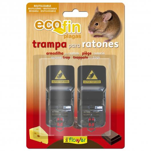 Kit di 2 trappole per topi