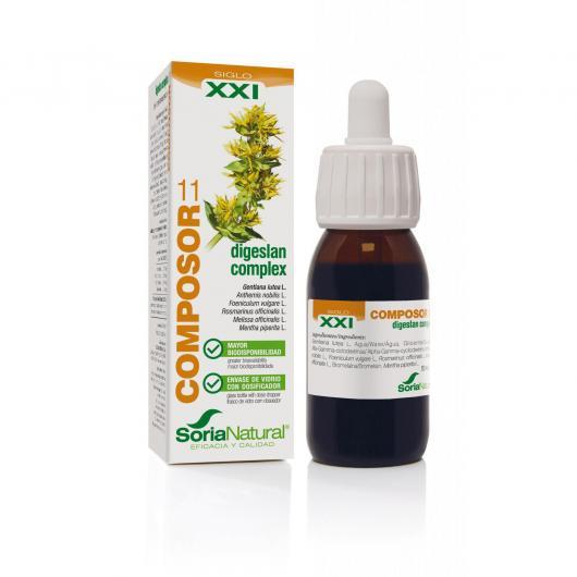 Composor 11 Ananas Complex Soria Natural, 50 ml