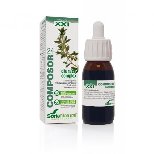 Composor 24 Uva-Ursi Complex Soria Natural, 50 ml