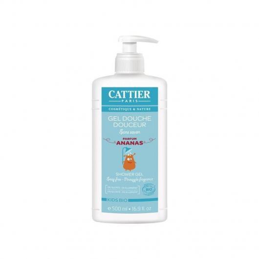 Gel douche doux pour enfants Cattier, 500 ml