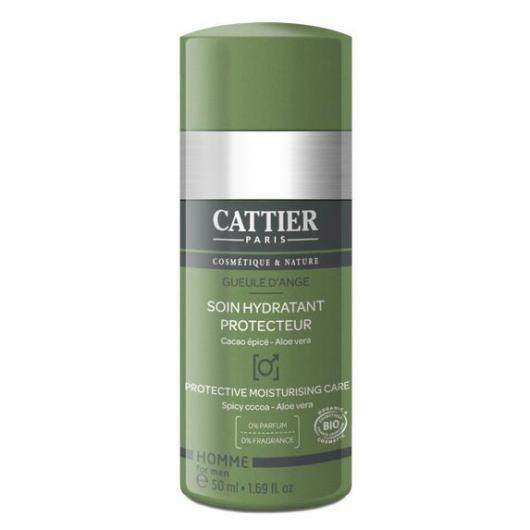 Cuidado hidratante protector para hombre Cattier, 50 ml.