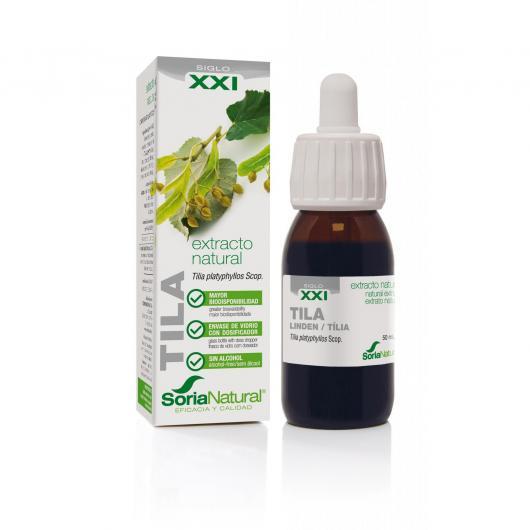 Extrait de tilleul à grandes feuilles Soria Natural, 50 ml