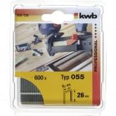 Set di 600 graffe 23 mm per spillatrice BT-EN 30 Einhell