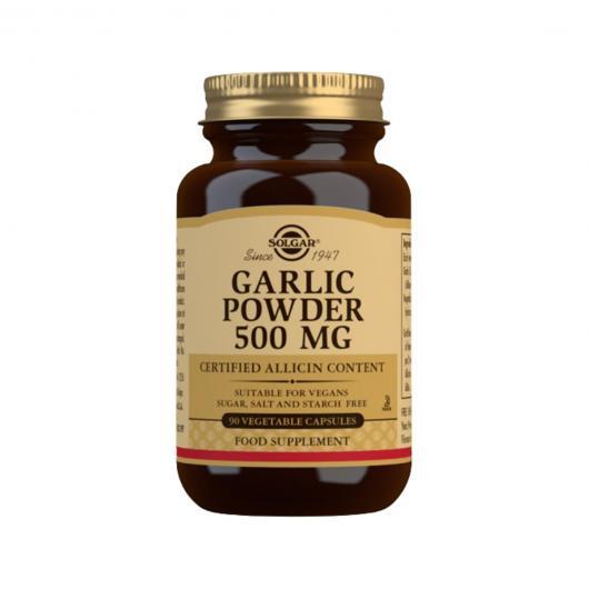 Aglio in polvere Solgar, 90 capsule vegetali