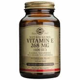 Vitamina E 400 UI Solgar, 100 cápsulas vegetales