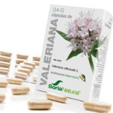 34-S Valeriana Soria Natural, 60 cápsulas