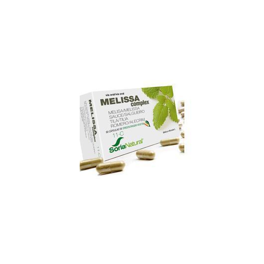 11-C Melissa Complex Soria Natural, 60 capsule