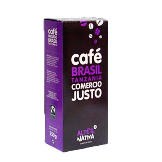 Café Brésil Tanzanie Alternativa, 250 g