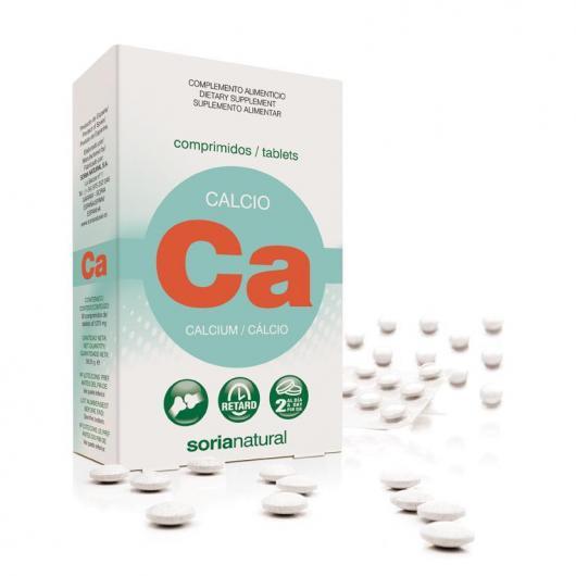 Calcium Retard Soria Natural, 30 comprimés