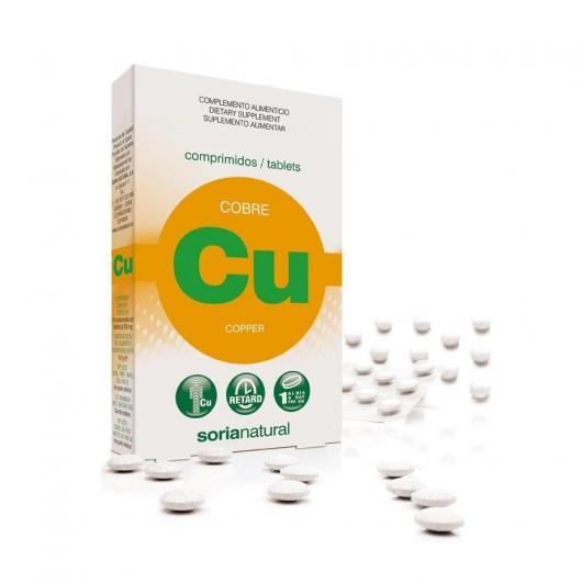 Cobre Retard Soria Natural, 24 comprimidos