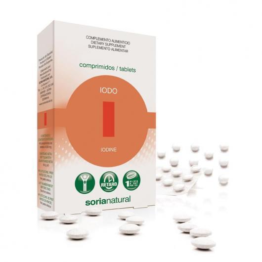 IODO Retard Soria Natural, 48 comprimidos