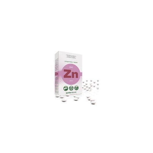 Zinc Retard Soria Natural, 48 comprimés