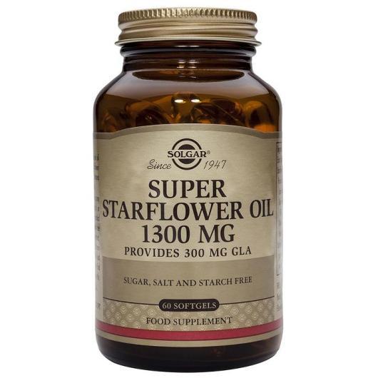 Olio di Borragine 1300 mg Solgar, 100 capsule softgel