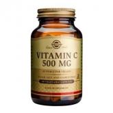 Vitamina C 500 mg Solgar, 100 cápsulas vegetales