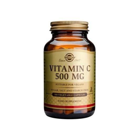 Vitamine C 500 mg Solgar, 100 gélules végétales