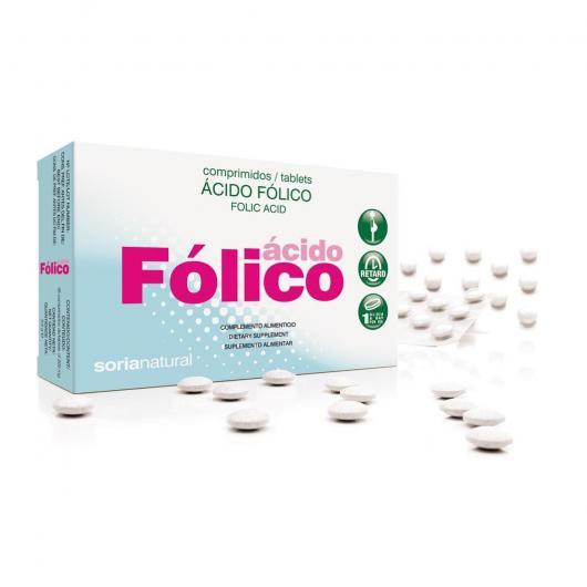 Acido Folico Retard Soria Natural, 48 compresse