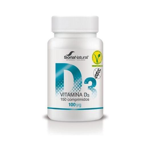 Vitamina D3 Retard Soria Natural, 48 compresse