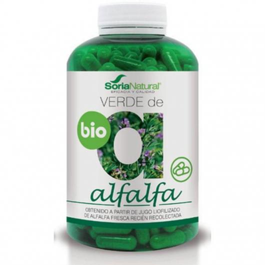 Verde di Alfalfa Soria Natural, 300 compresse